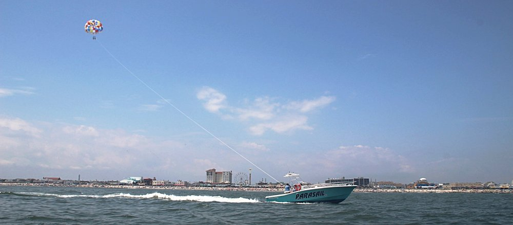 Parasailing in Ocean City, NJ     Learn More