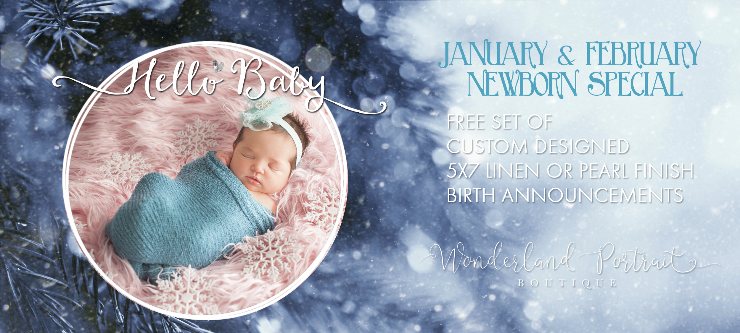 Bucks County PA Baby Pictures Winter Newborn January February 2016