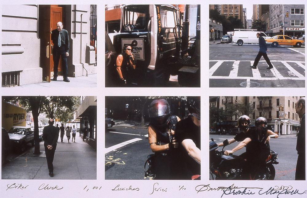 """Biker Chick ,Kodak photo grid, 20 x 24"""",2000"""