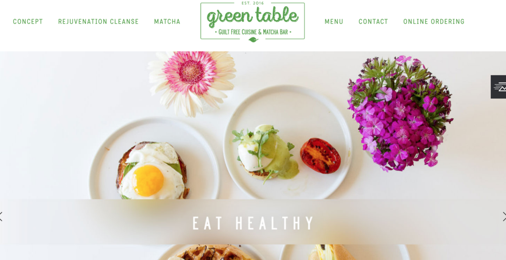 Green Table -