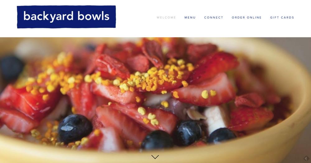 Backyard Bowls -