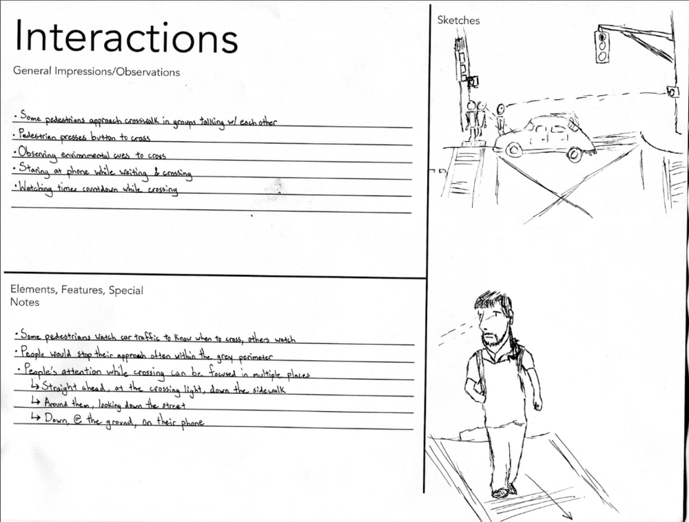 Interactions AEIOU worksheet