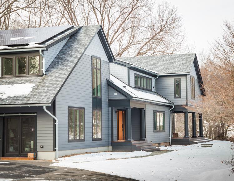 Shingle Style House Rebuild - Stone Ridge, NY
