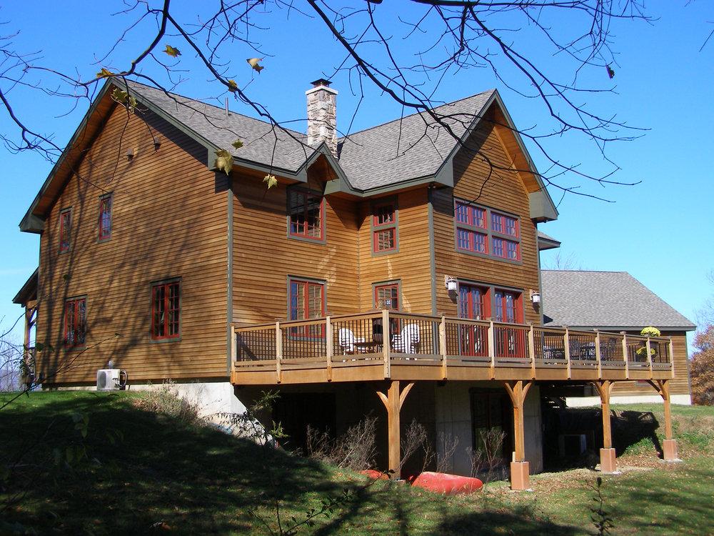 Timber Frame House - Stone Ridge, NY