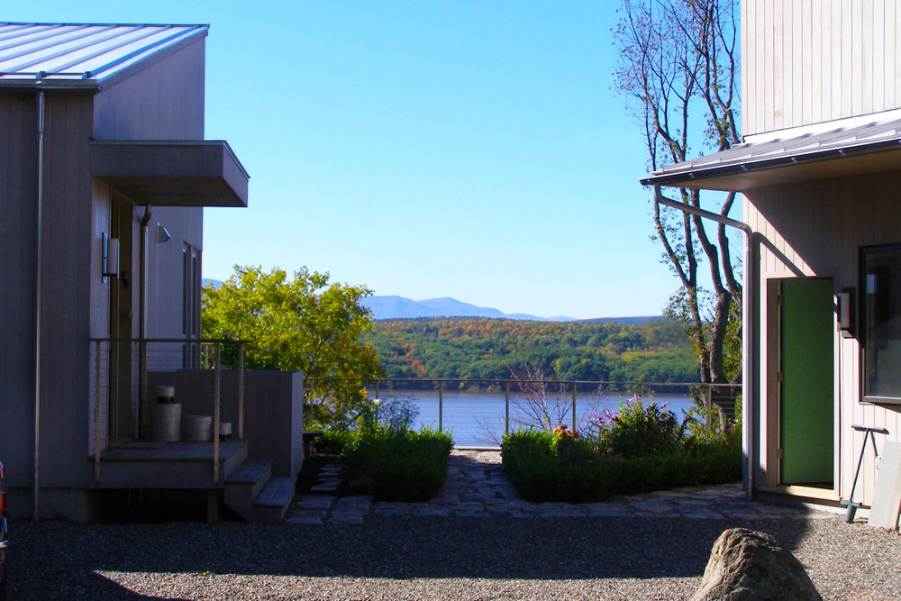 Contemporary Hudson River House -  Hudson, NY