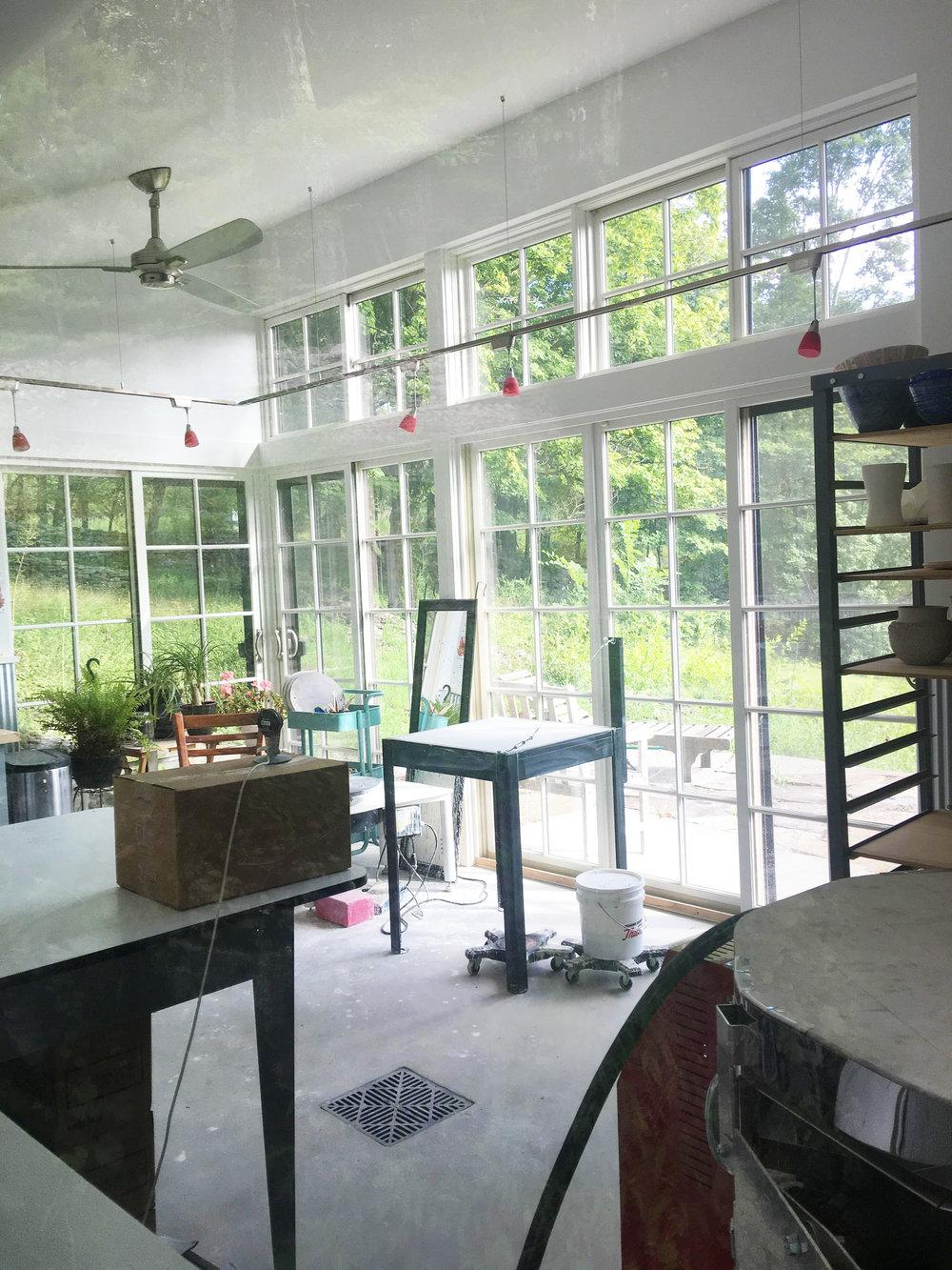 Pottery Studio - Krumville, NY