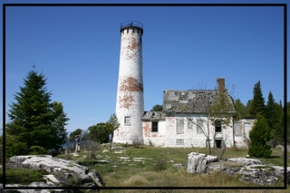 Poverty Island Light Station, summer of 2009