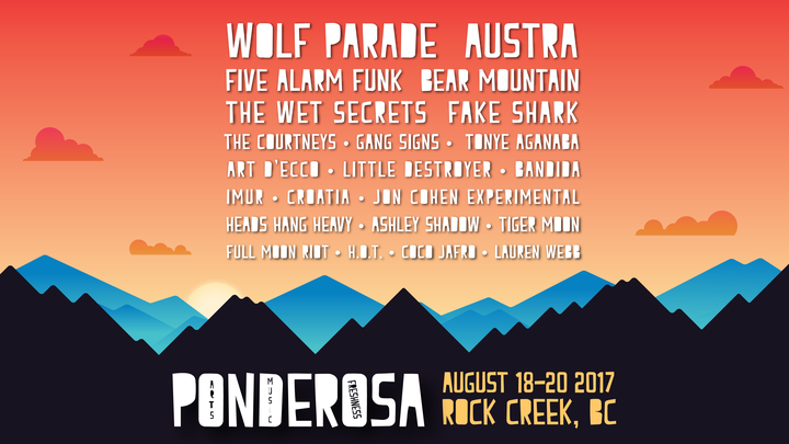 Playing this great Indie Festival in BC this summer