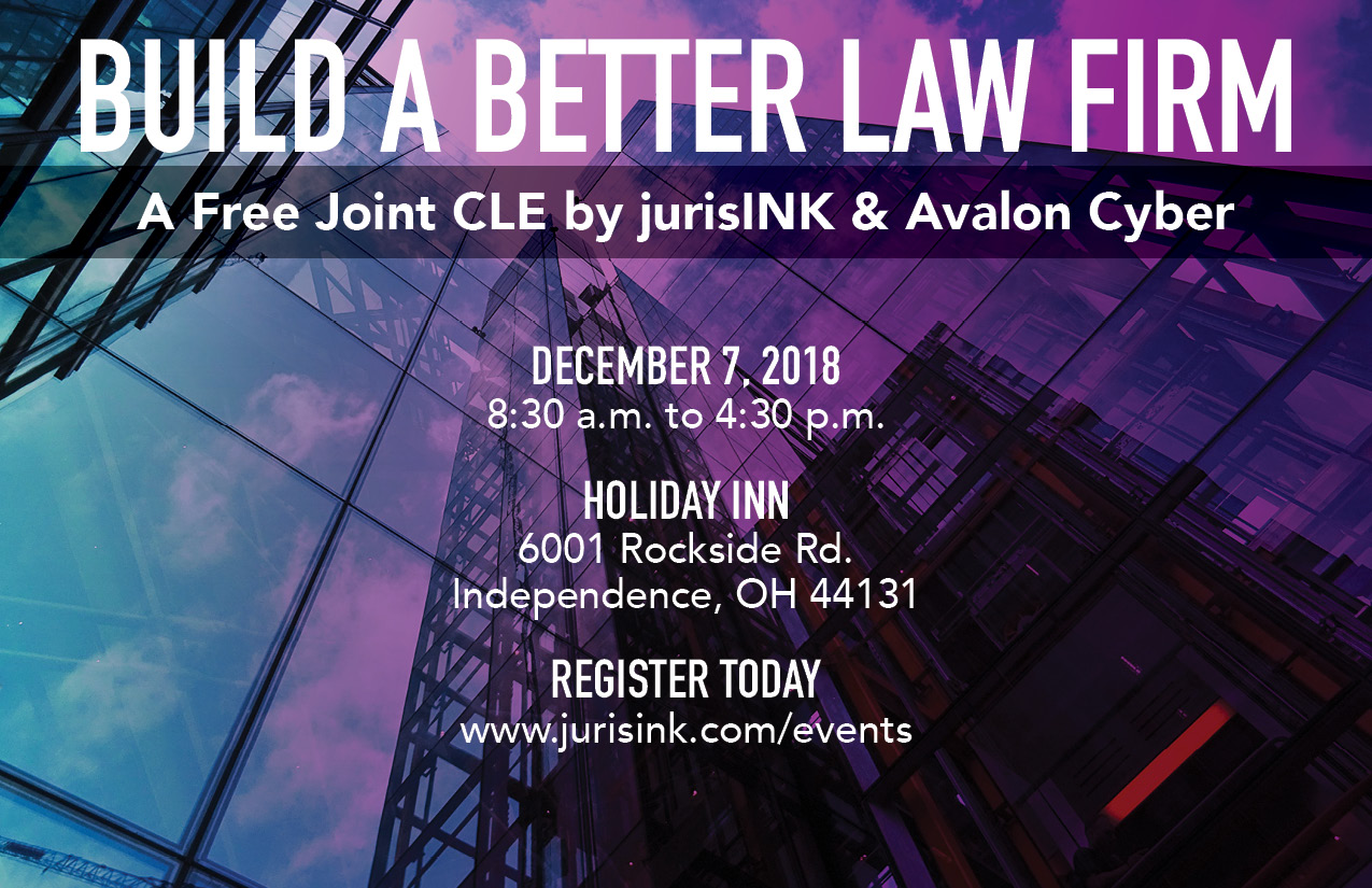 Oh Law Firm >> Free Cle Build A Better Law Firm Jurisink