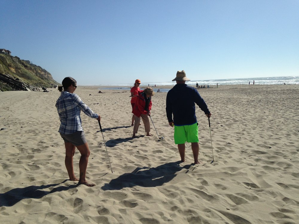 Beach golf - always fun for everyone.