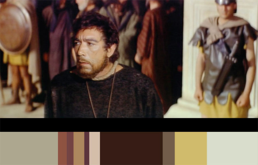 Color analysis - deriving palette