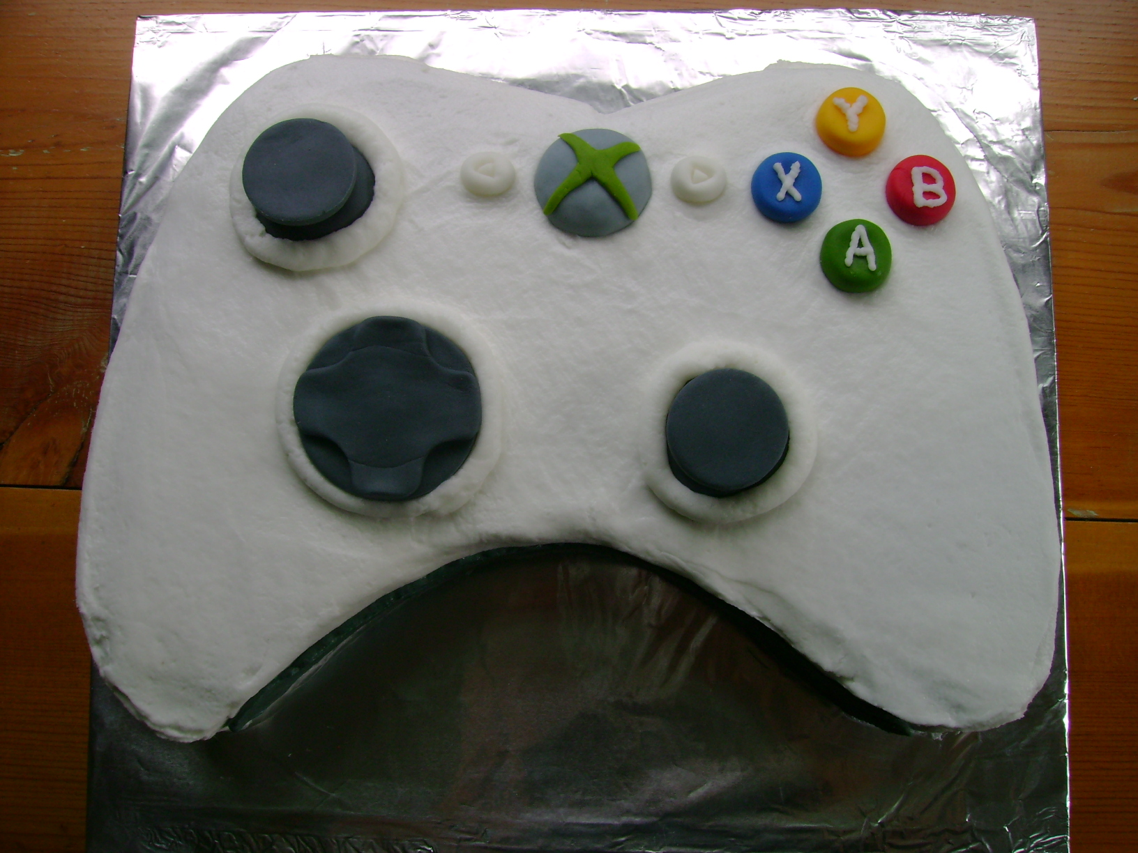 How To Create An Xbox Cake Z As In Zebra
