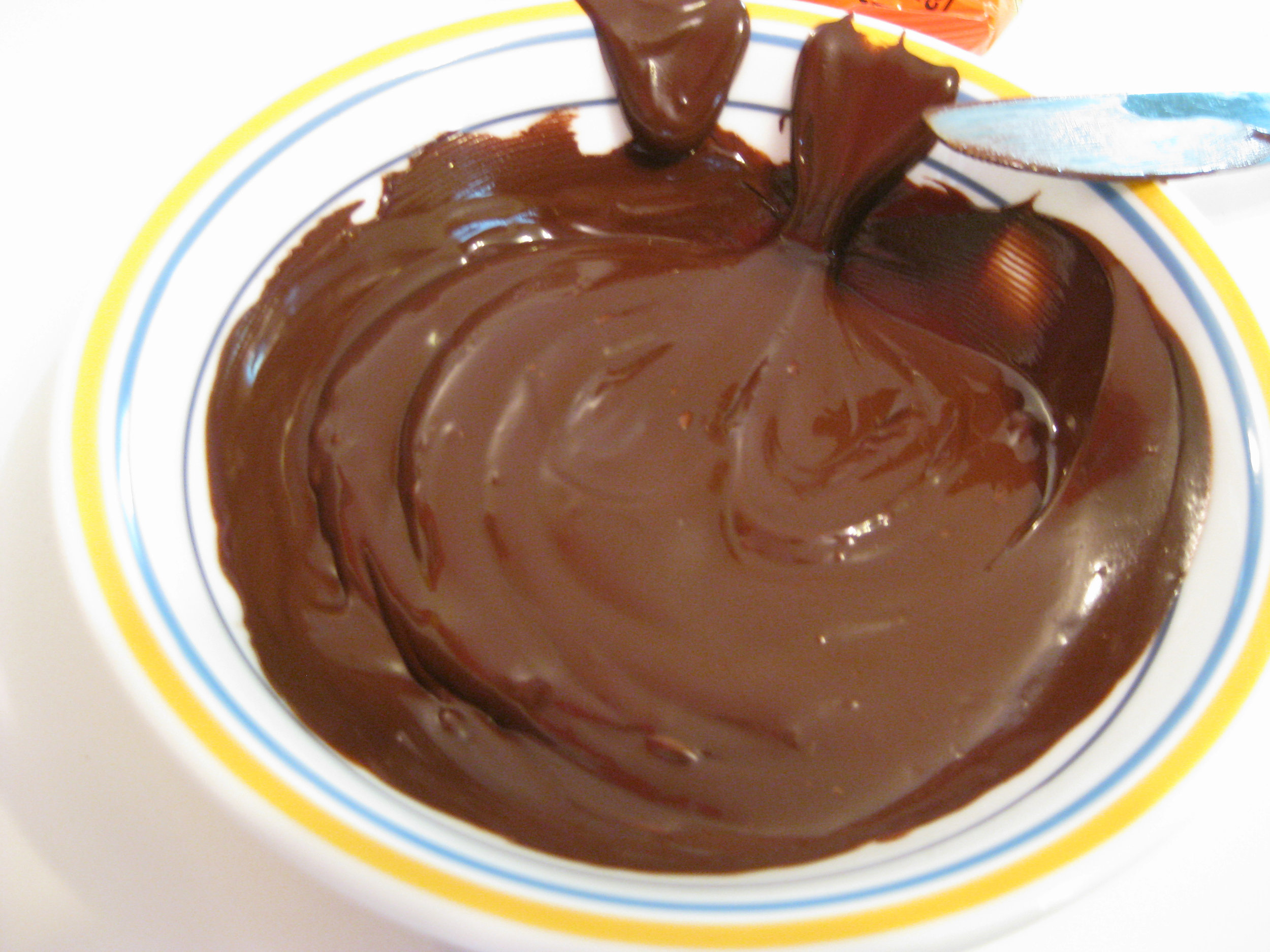 melted choc