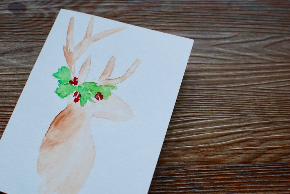 watercolor cards - personalized cards for your next occasion, a loved one, or special event