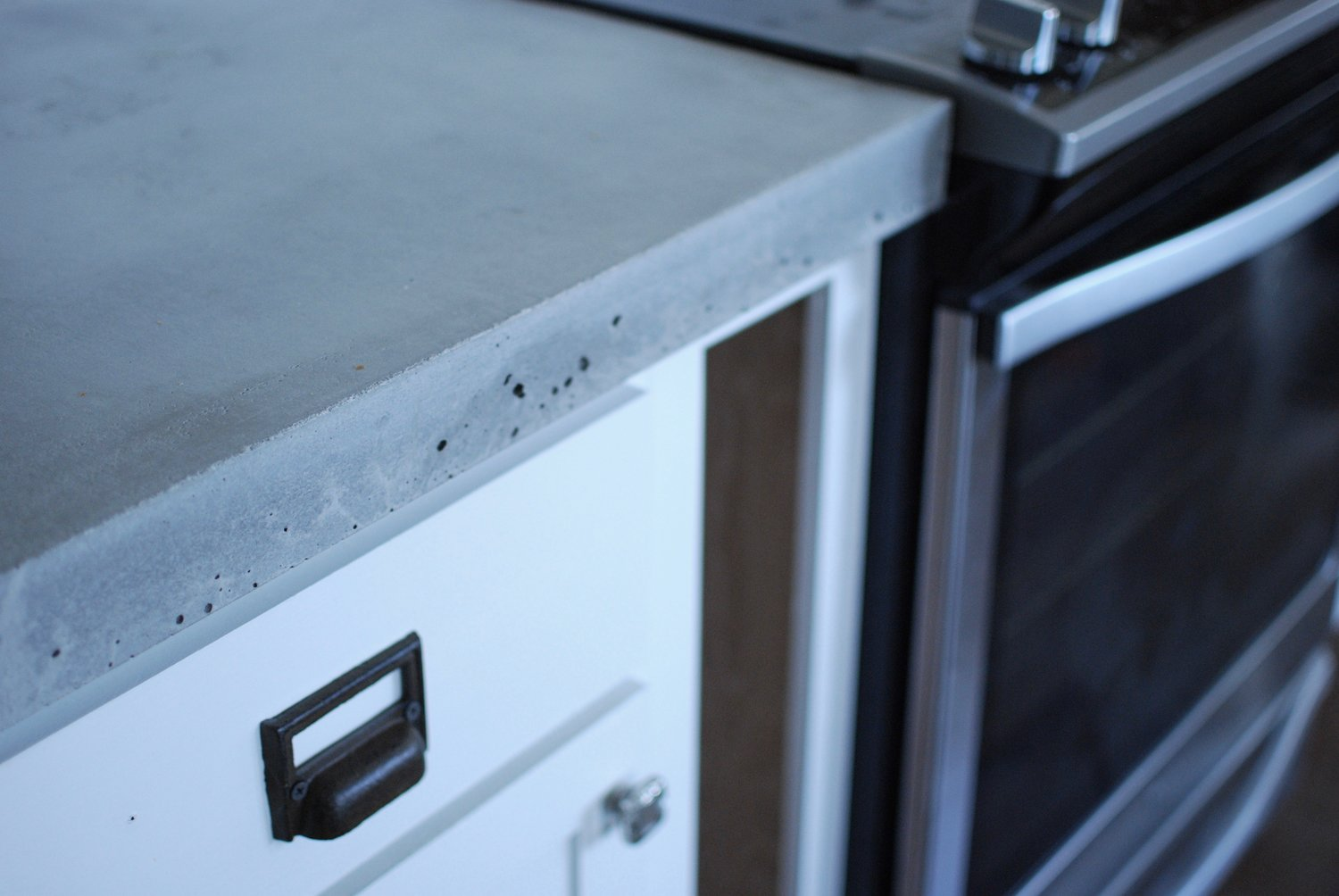 DIY Concrete Countertops - Part 2, pouring and finishing. — greywoodmama