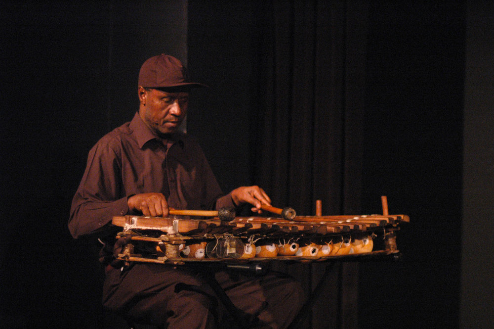 Ebrima Jassey on the Balafon by Elisa Gutierrez