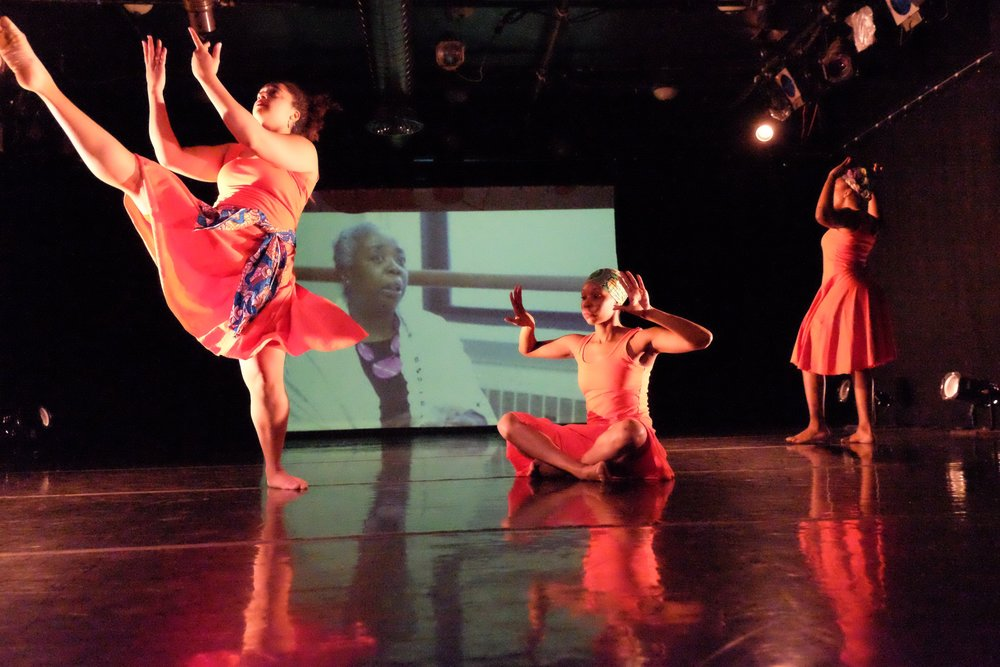 Movement of the People Dance Company performs  Hair Ties,  a multidisciplinary, dance-theater piece inspired by America's fear of Black power and beauty.