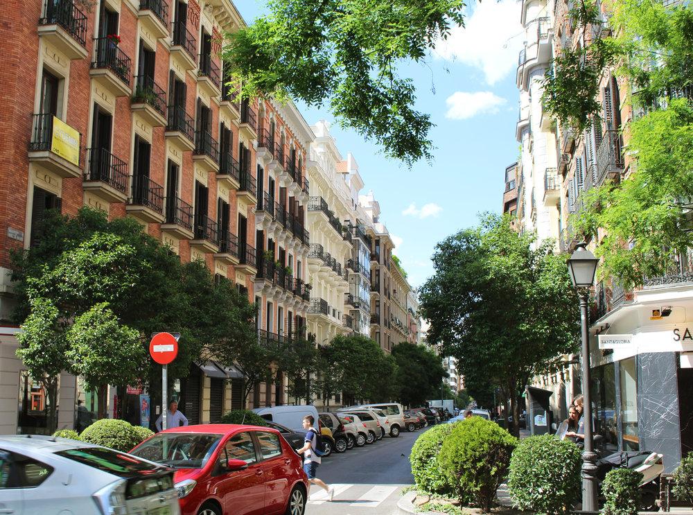 Calle Nuñez de Balboa, Madrid