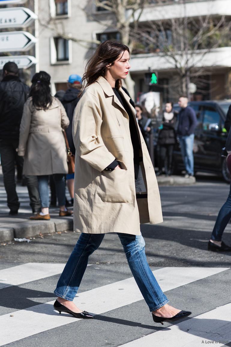 Paris Fashionweek day5, outside Céline