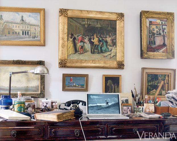 IH family history and tablescape Veranda