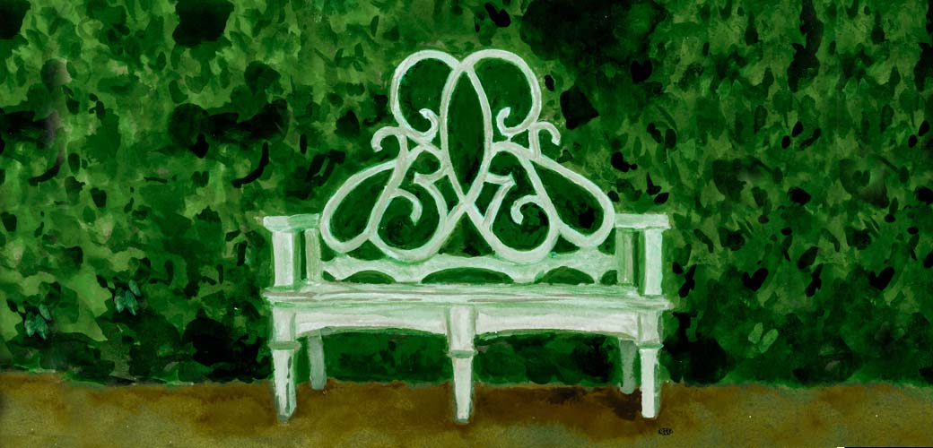 Private Newport_Parterre Bench_