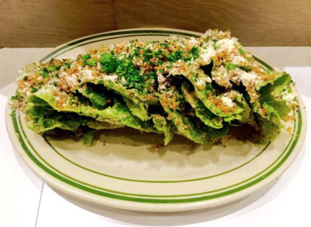 Gem Lettuce Salad. Photo Courtesy of Yelp.
