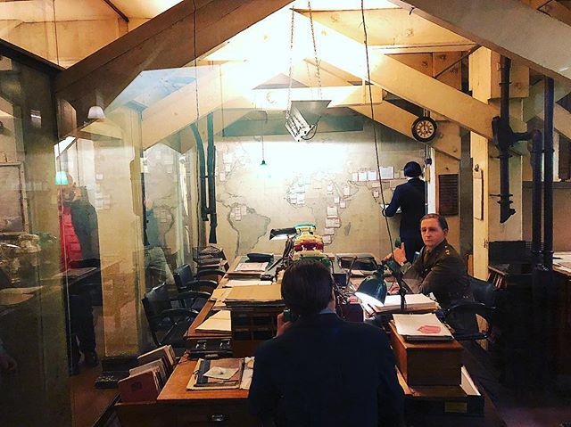 """#London must! The Churchill War Rooms. — """"There is no time for ease and comfort. It is time to date and ensure."""" — Winston Churchill. . . . #History #Museum #LoveLondon #WinstonChurchill #ThingsToDoInLondon #WWII"""