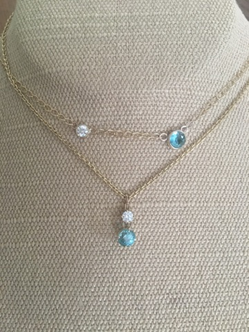 1. AFTER  Mother /daughter necklaces