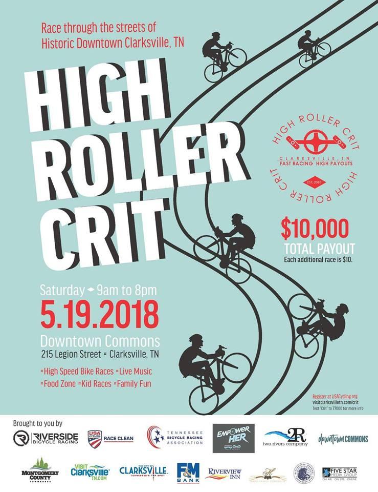 High Roller Criterium Love Clarksville