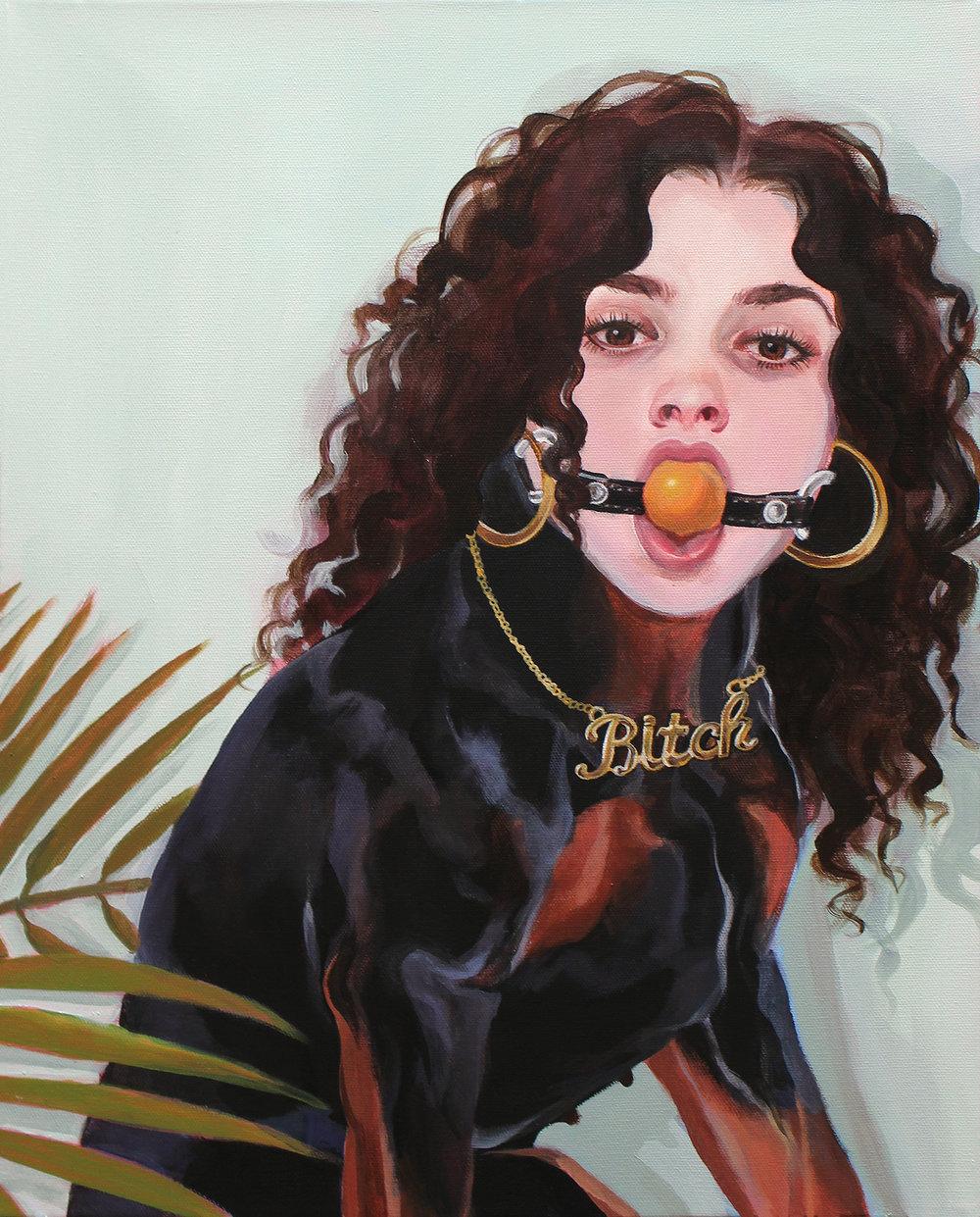 """Un Día en la Vida de , Acrylic on canvas, 20"""" x 16"""""""