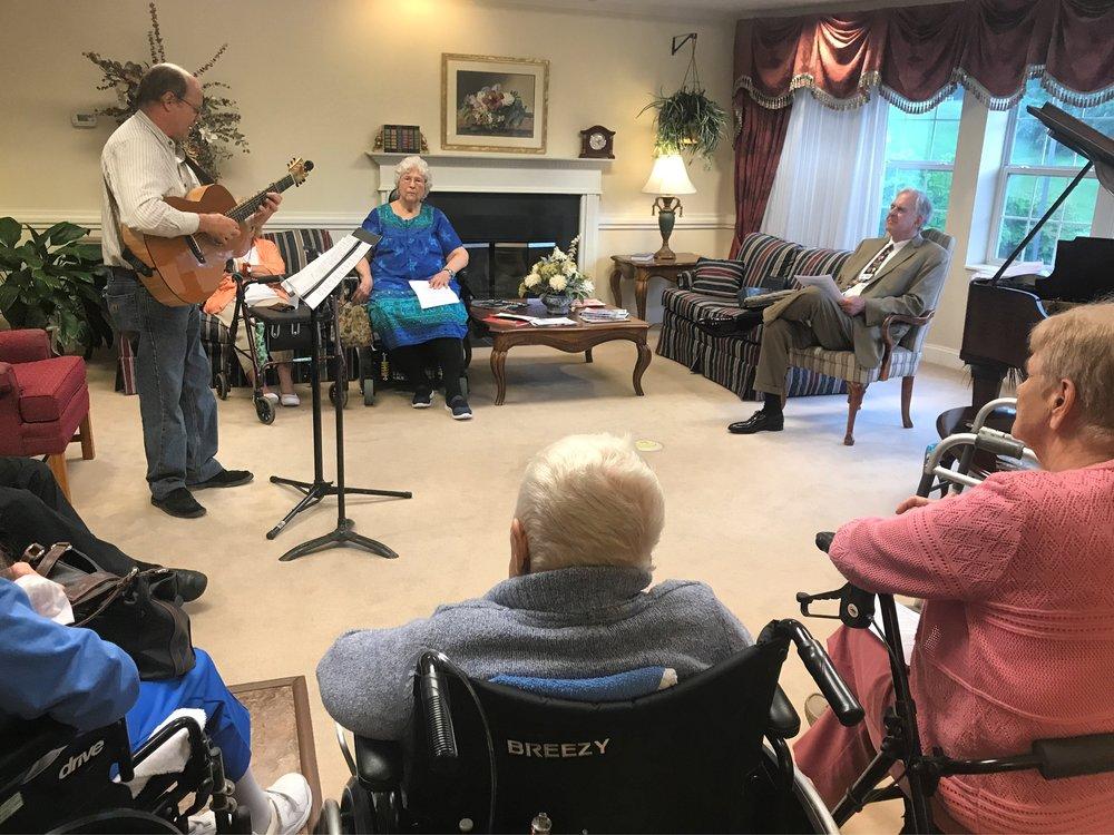 Vespers at Retirement Home
