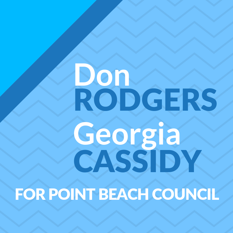 Don Rodgers & Georgia Cassidy for Point Pleasant Beach Council