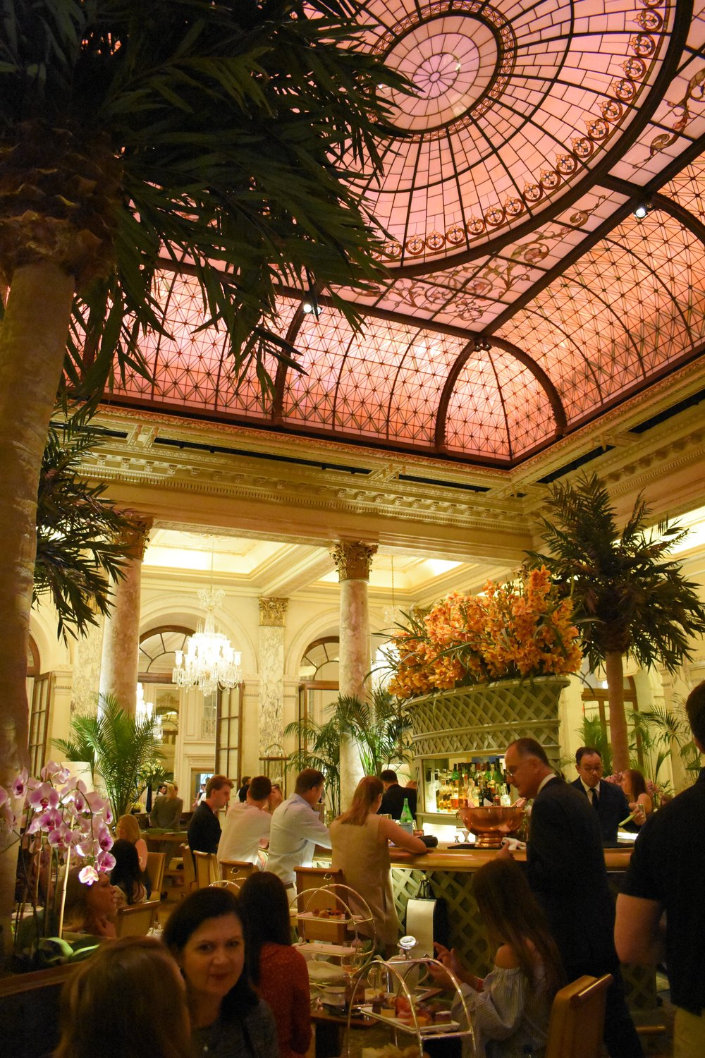 The Champagne Bar at the Palm Court at the Plaza. I'll be back...