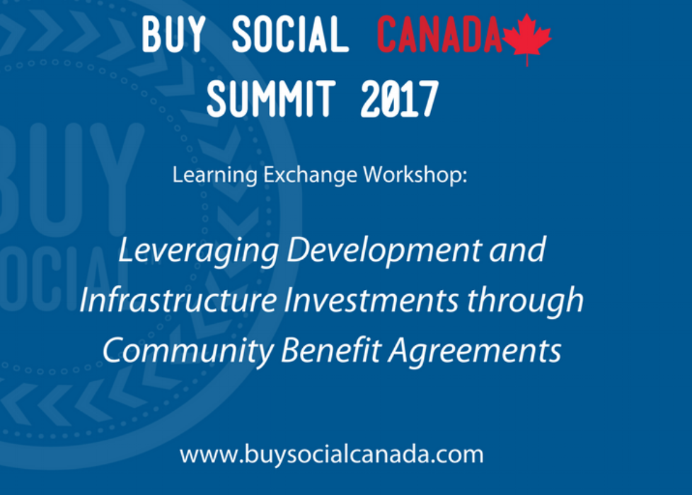 Buy Social Canada Summit, Gatineau, November, 2017