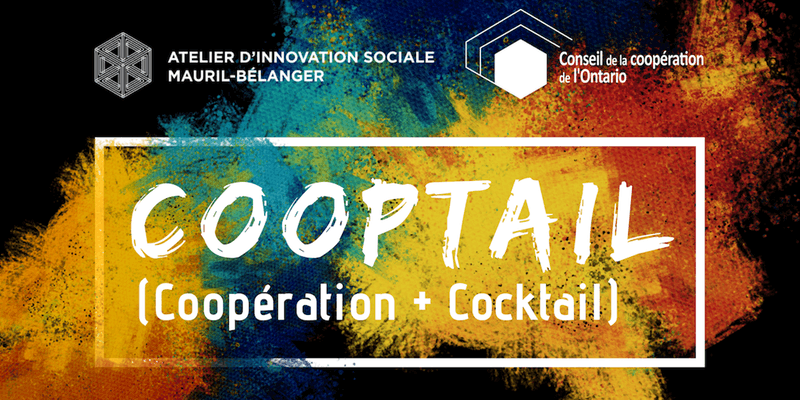 COOPTAIL (Coopération + Cocktail), Ottawa, January 2019