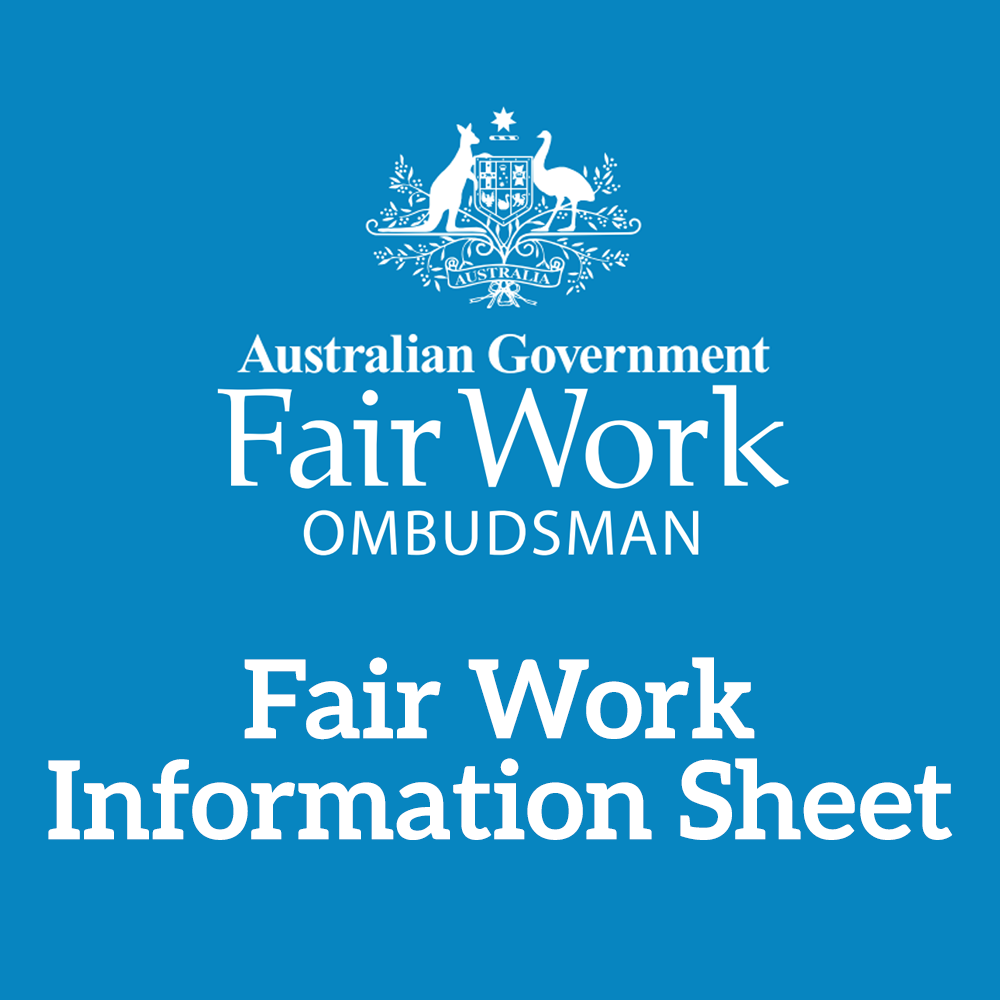 Fair Work Information Statement - July 2013