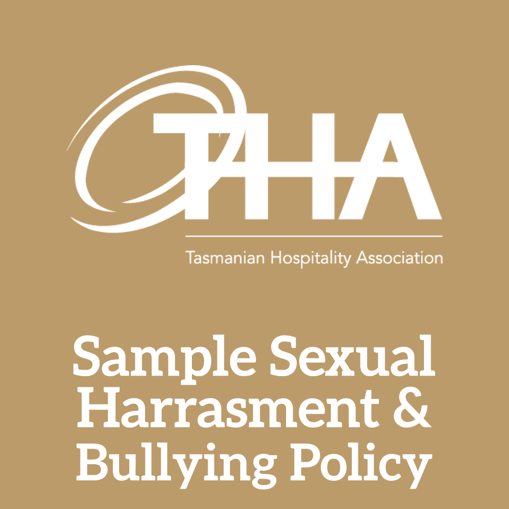 Sample Sexual Harassment & Bullying Policy
