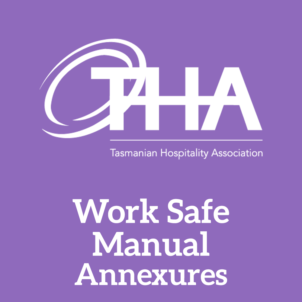 Work Safe Manual Annexures