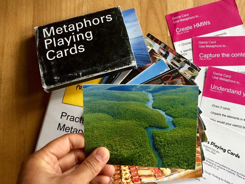 Prototypingthe Metaphors Playing Cards.