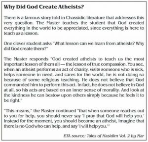 why-did-god-create-atheists