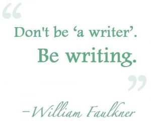 on writing - william faulkner