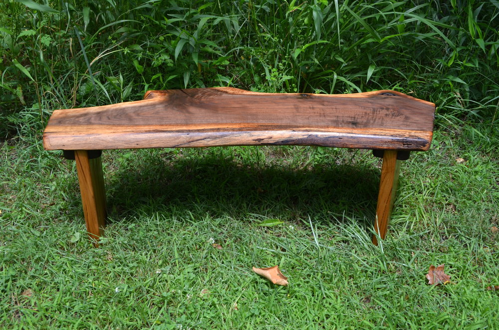 Walnut Sitting Desk    commissioned