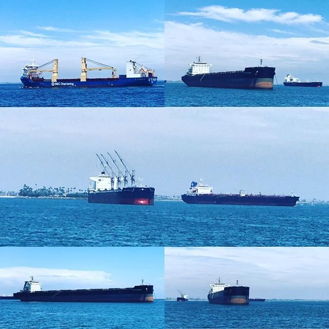 #containership #internationaltrade #portoflosangeles #sanpedro