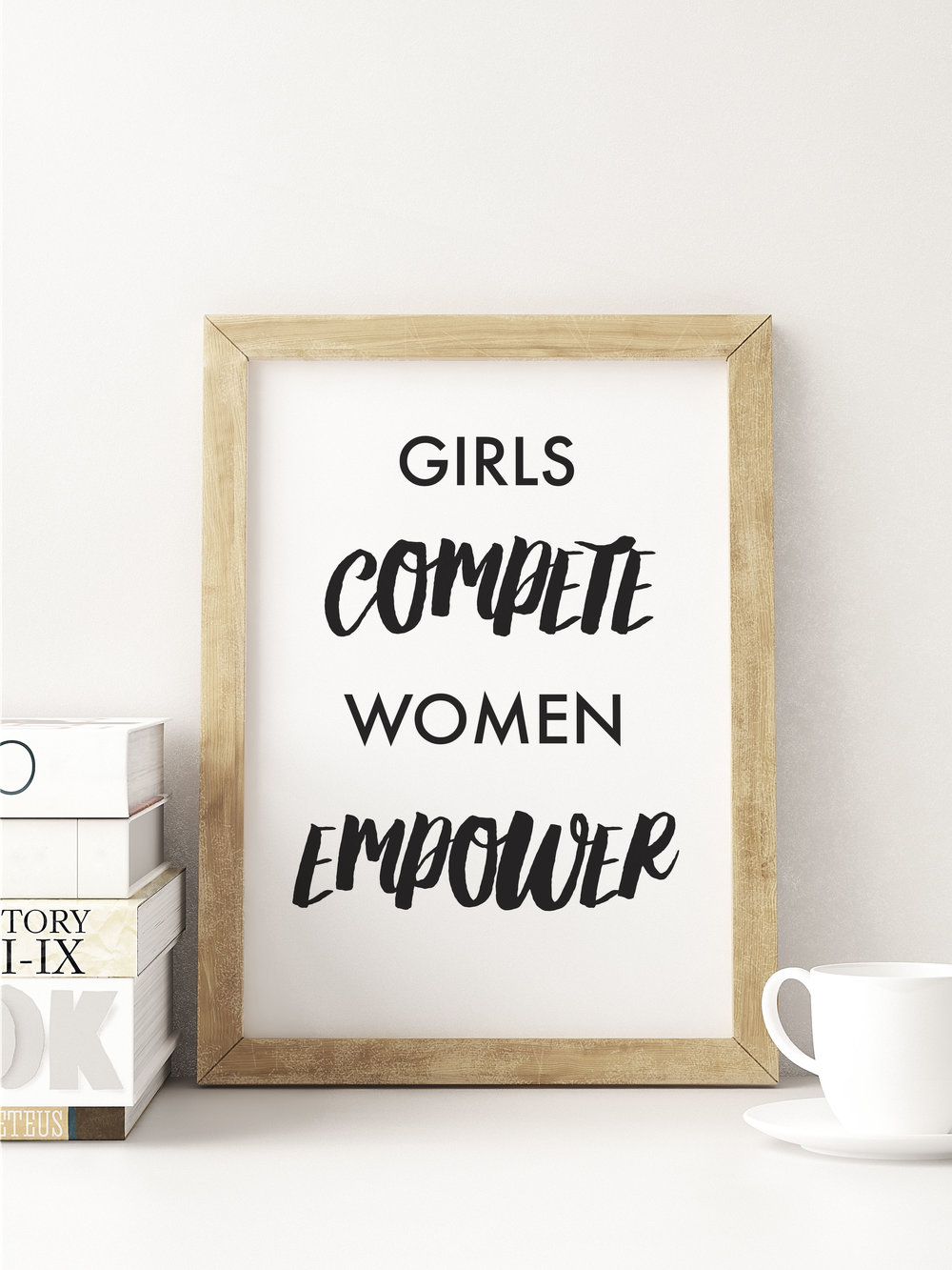 """Women Empower"" Art Print 8""x10"""