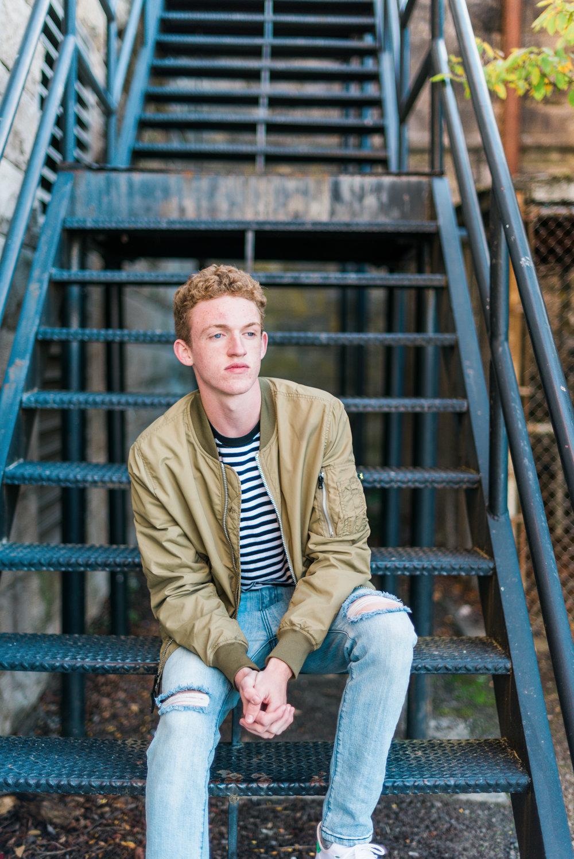 Brooke Summers Photography | Zach - Senior