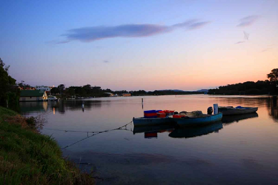 Little St Forster sunset over Lake.jpg