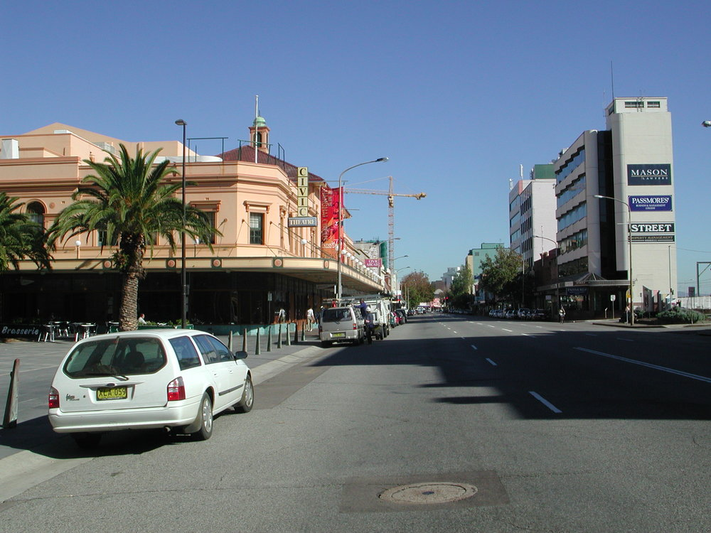 Hunter St facing west.JPG