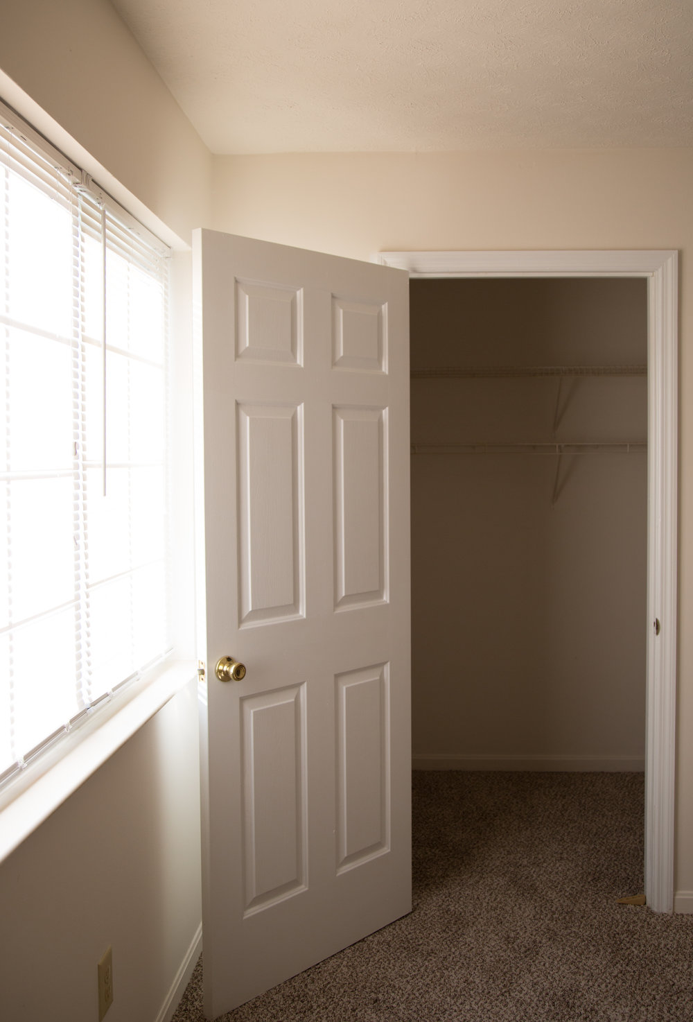Second Bedroom Walk In Closet