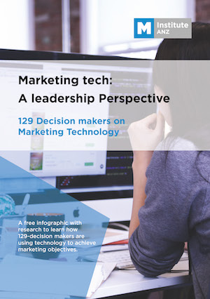 Marketing Tech: A leadership perspective