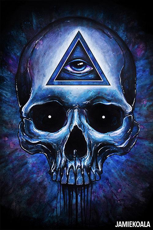 traditional artwork jamie koala rh jamiekoala com skull images clip art Skull Clip Art